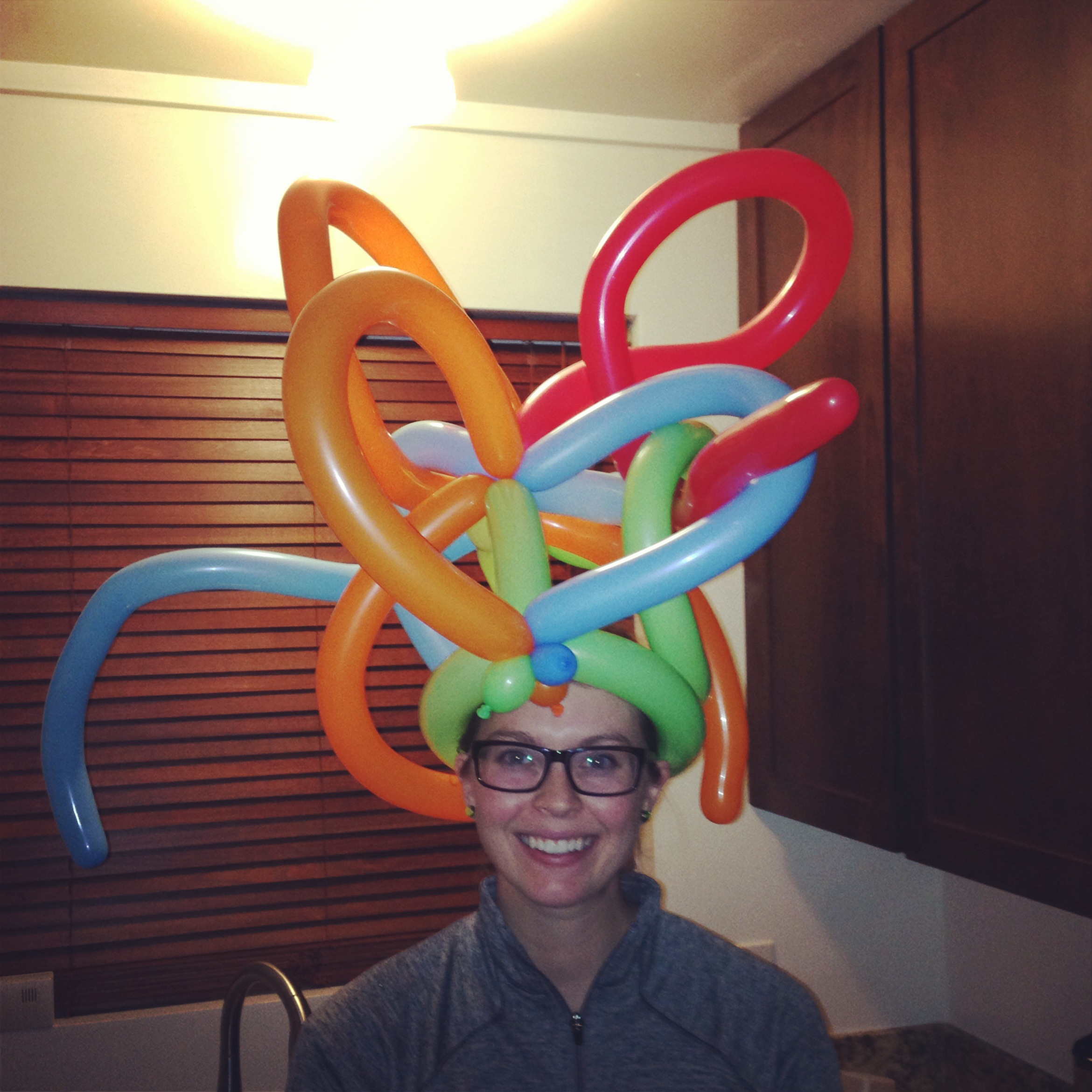 Balloon Twisting Crazy Hat How To