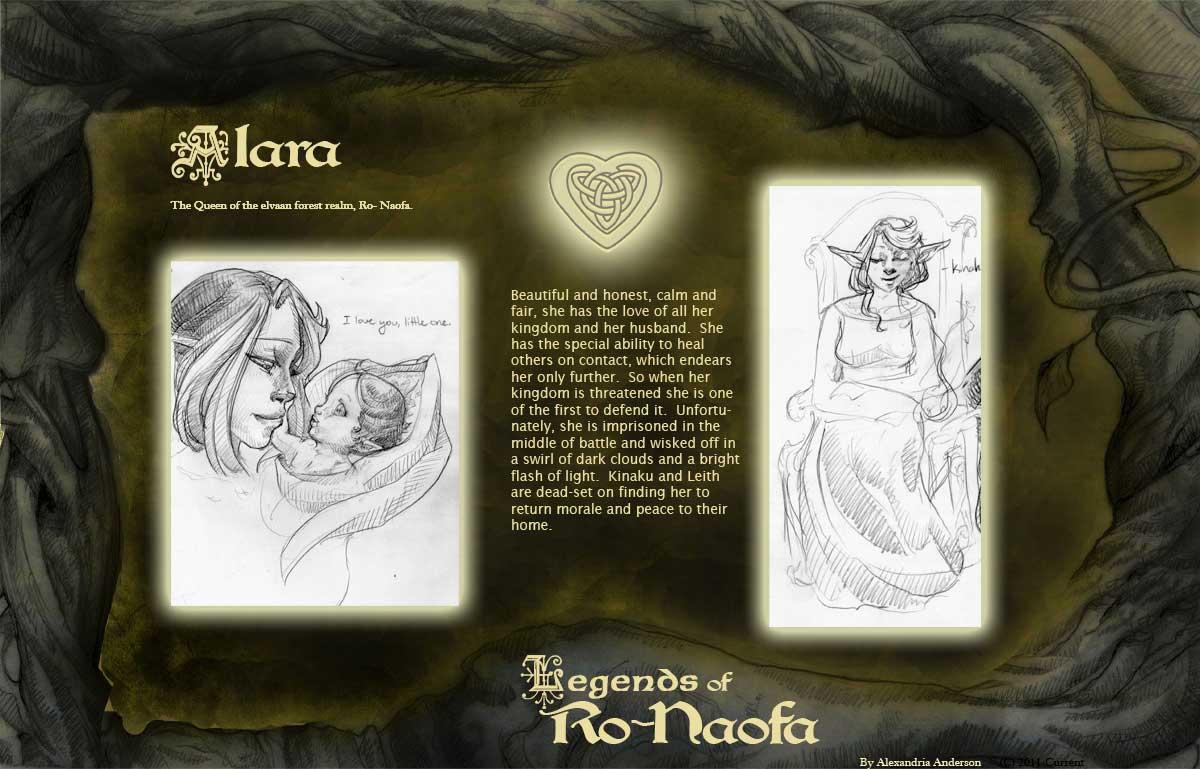 Legends of Ro Noafa - Alara