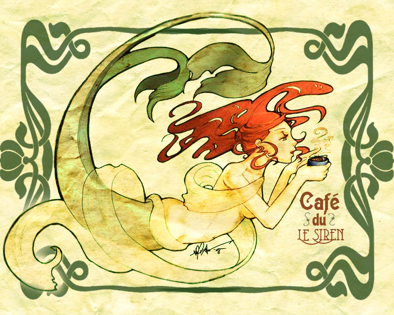 Coffee Siren Nouveau
