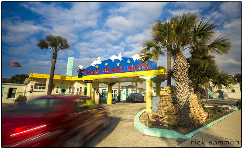 You'll love making pictures at the Magic Beach Motel in St. Augustine