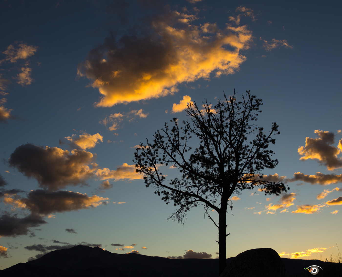 Sunset, photographed on our Yellowstone National Park photo workshop.