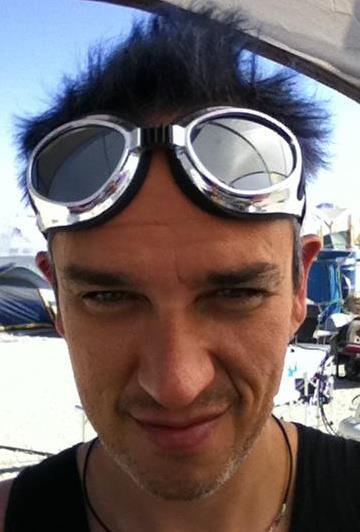 Hunter Luisi @ Burning Man 2011