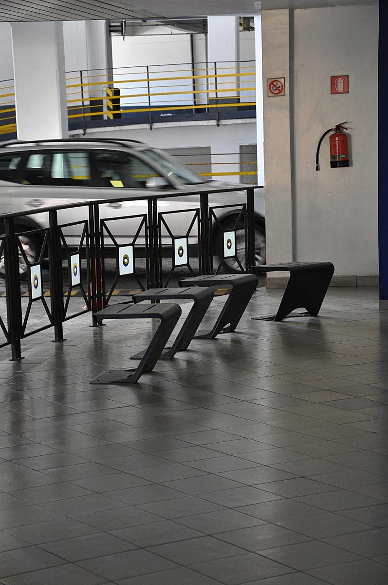 Horizon seat at ATM parkings Venice
