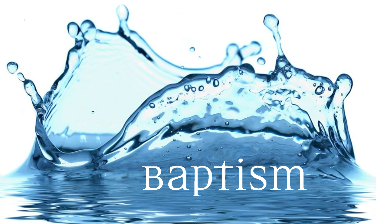 what is water baptism