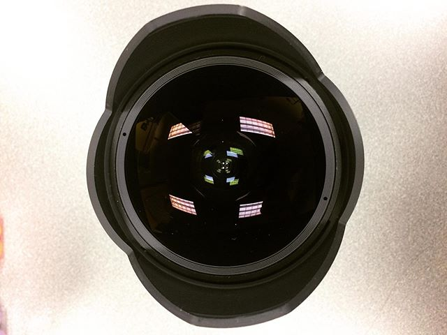 "Today is what we call ""Fish Eye Friday""!!! Come and check out this amazing fish eye lens in Media Loans!"