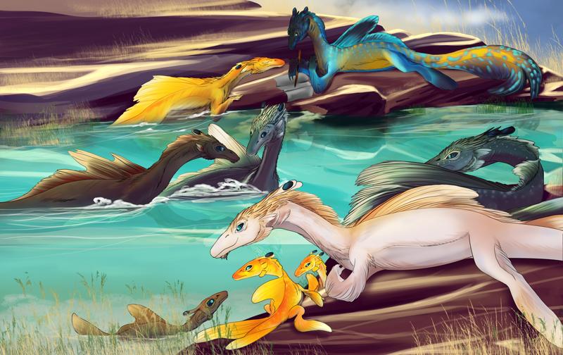 The Koa'nesk: By the Poolside