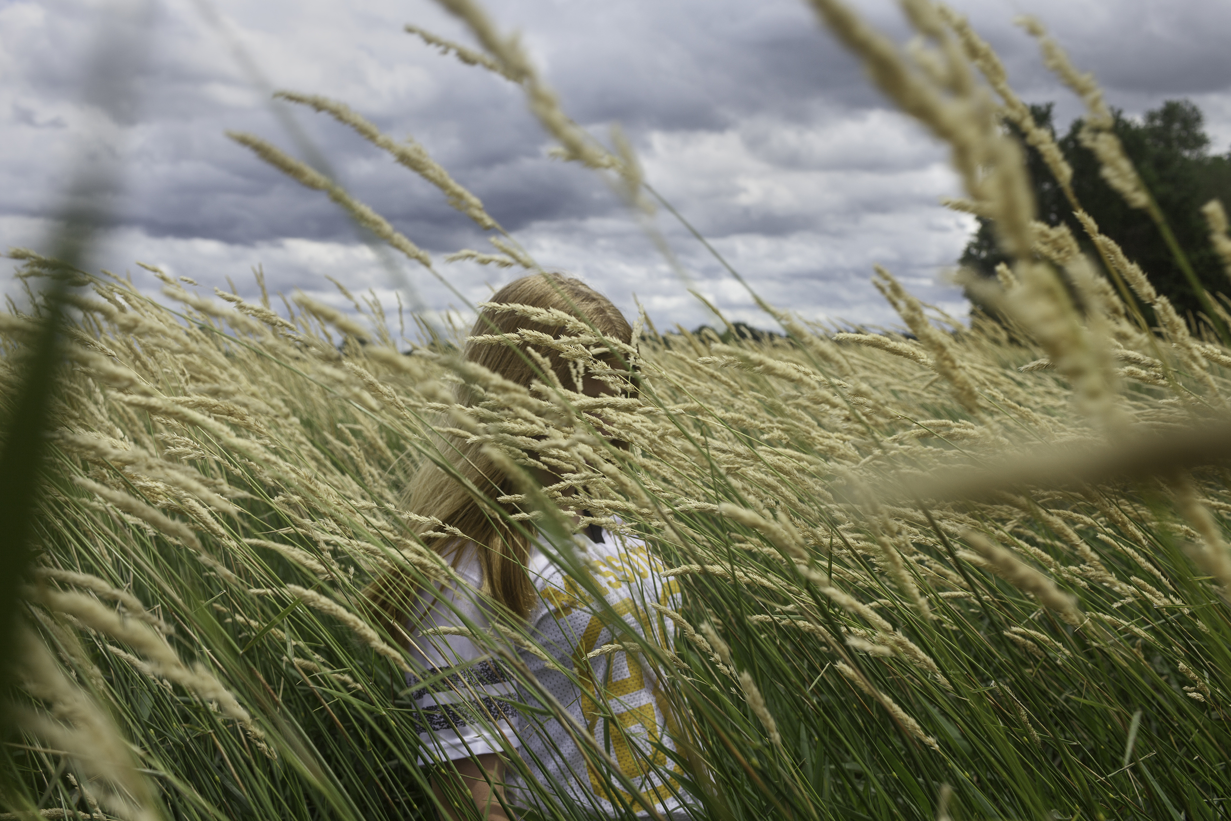Hay, Girl.  Meadville, Missouri, 2011.