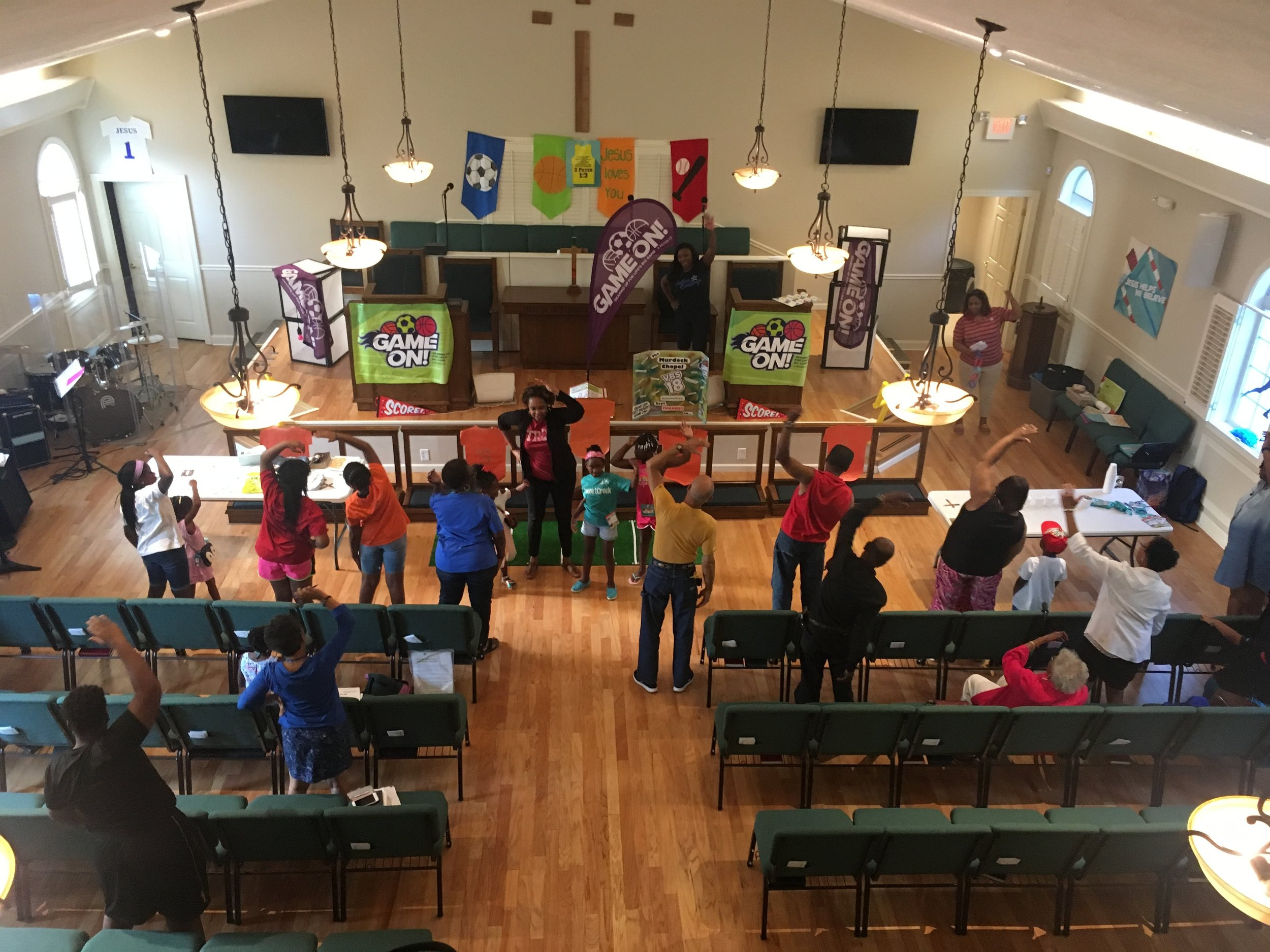 CLICK PIC TO SEEPICTURES FROM... - 2018 VACATION BIBLE SCHOOL - GET YOUR GAME ON! & BACK TO SCHOOL BASH