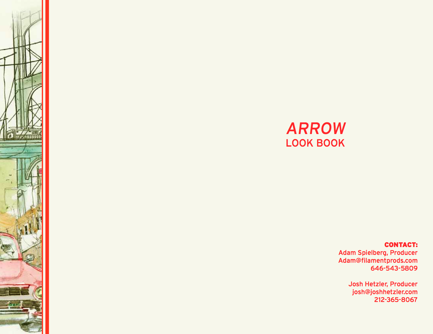 Arrow Lookbook Page 1