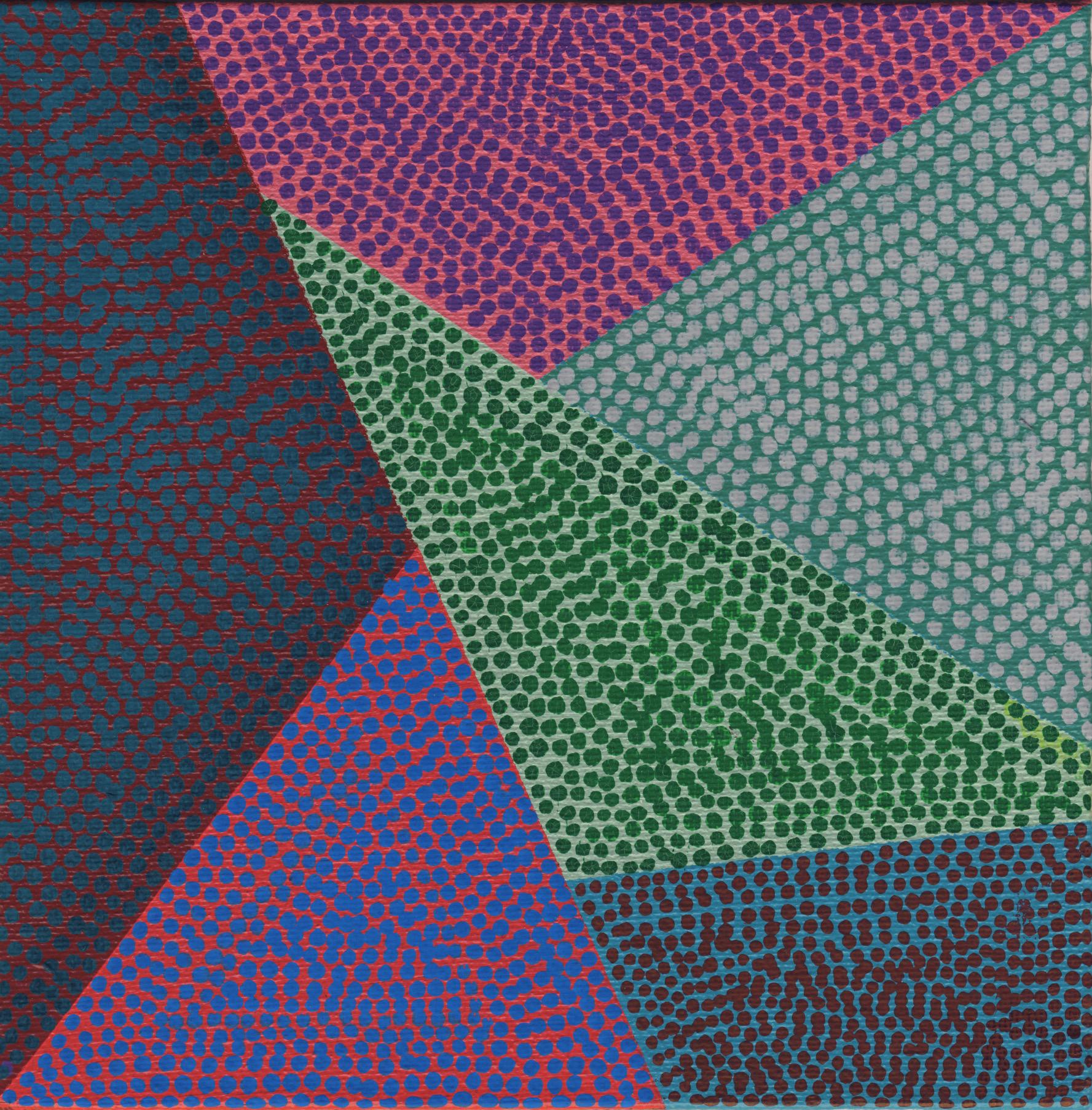 "92/100, Acrylic on canvas panel, 6"" X 6"", 4/8/19"