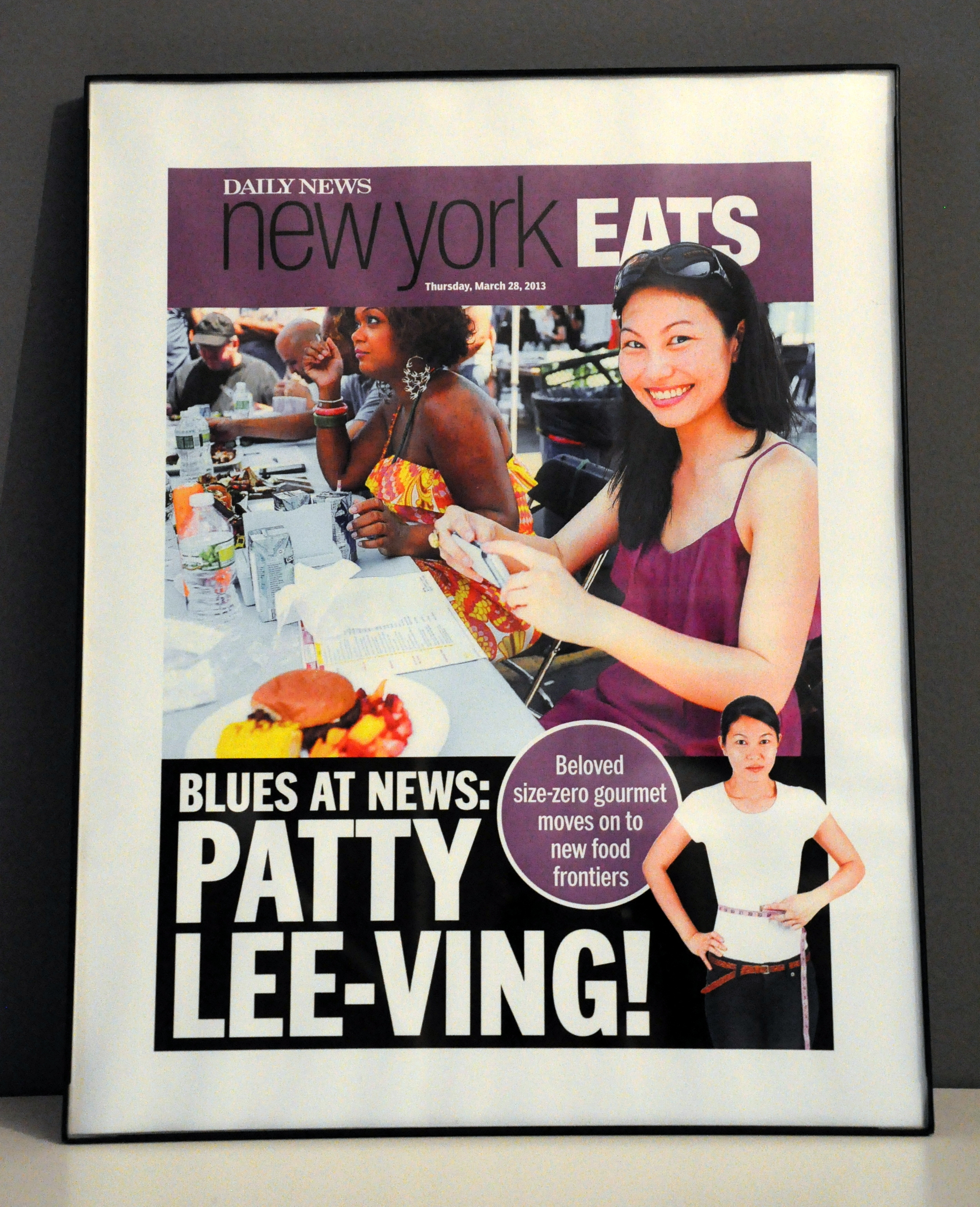 Farewell gift from the NYDN features team