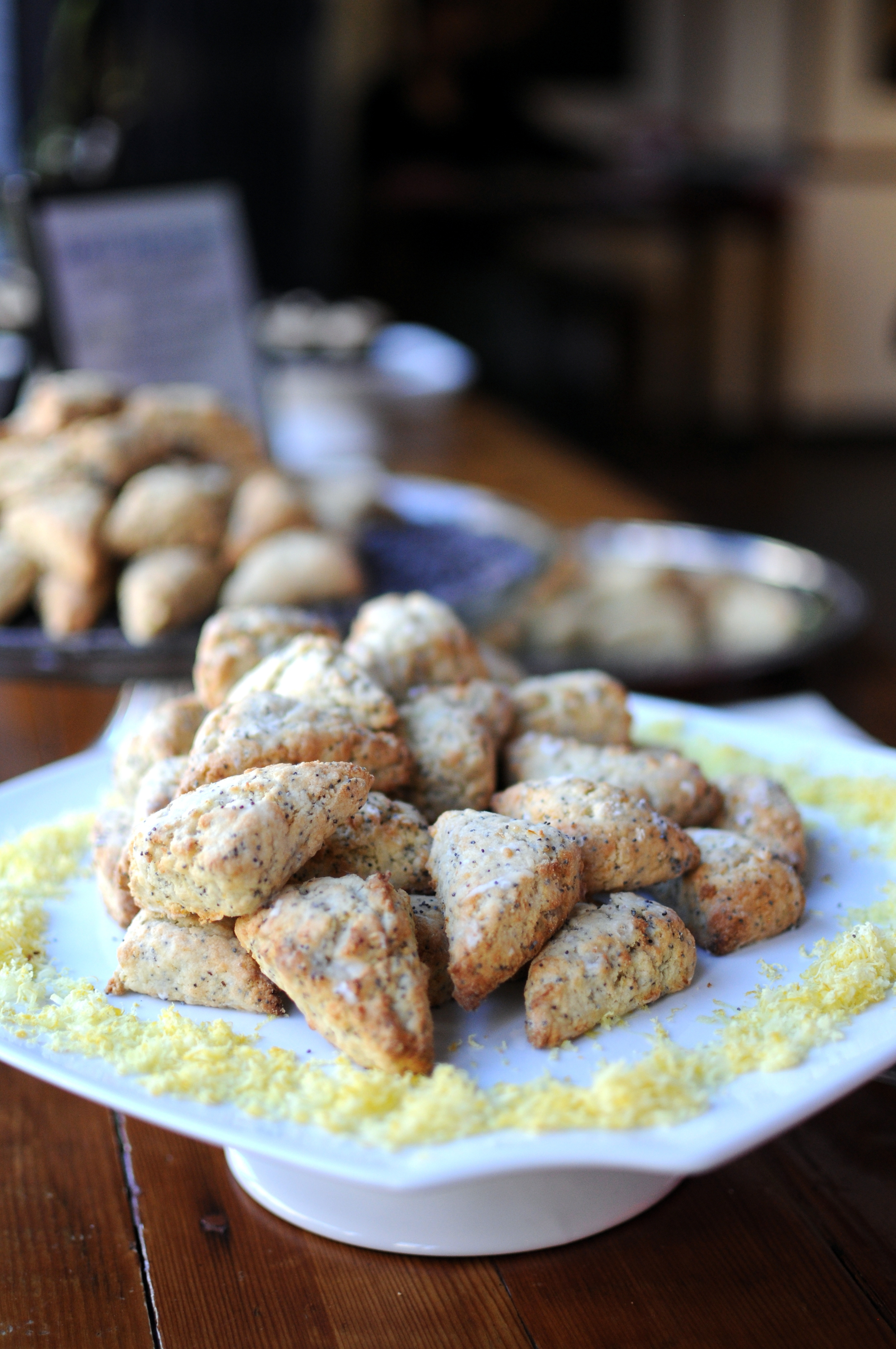 Savory and sweet scones by Jacqueline