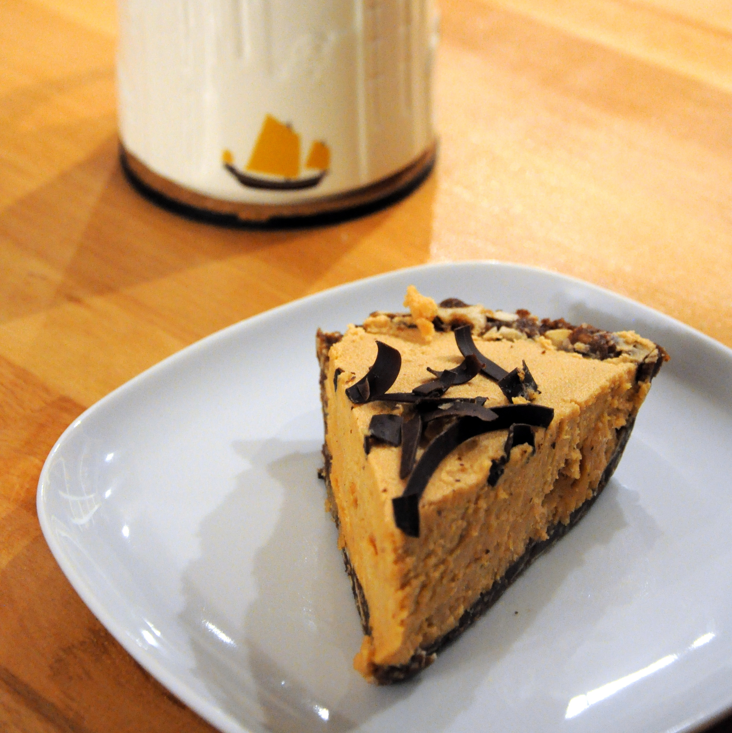 Peanut butter chocolate pie at Betty Bakery