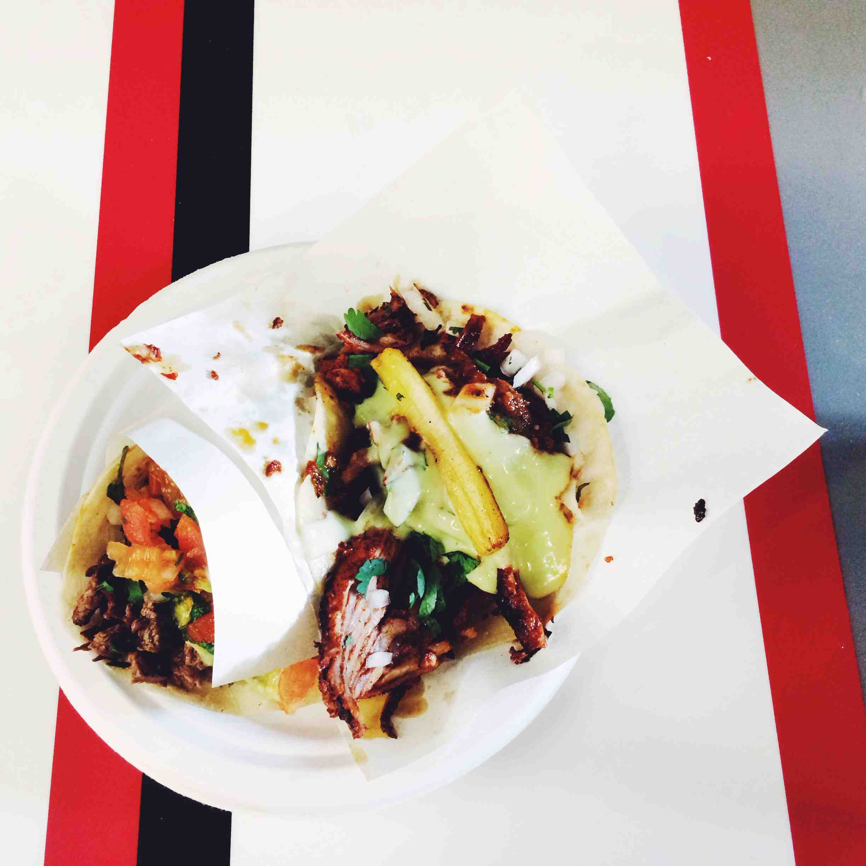 Tacos at Los Tacos No.1
