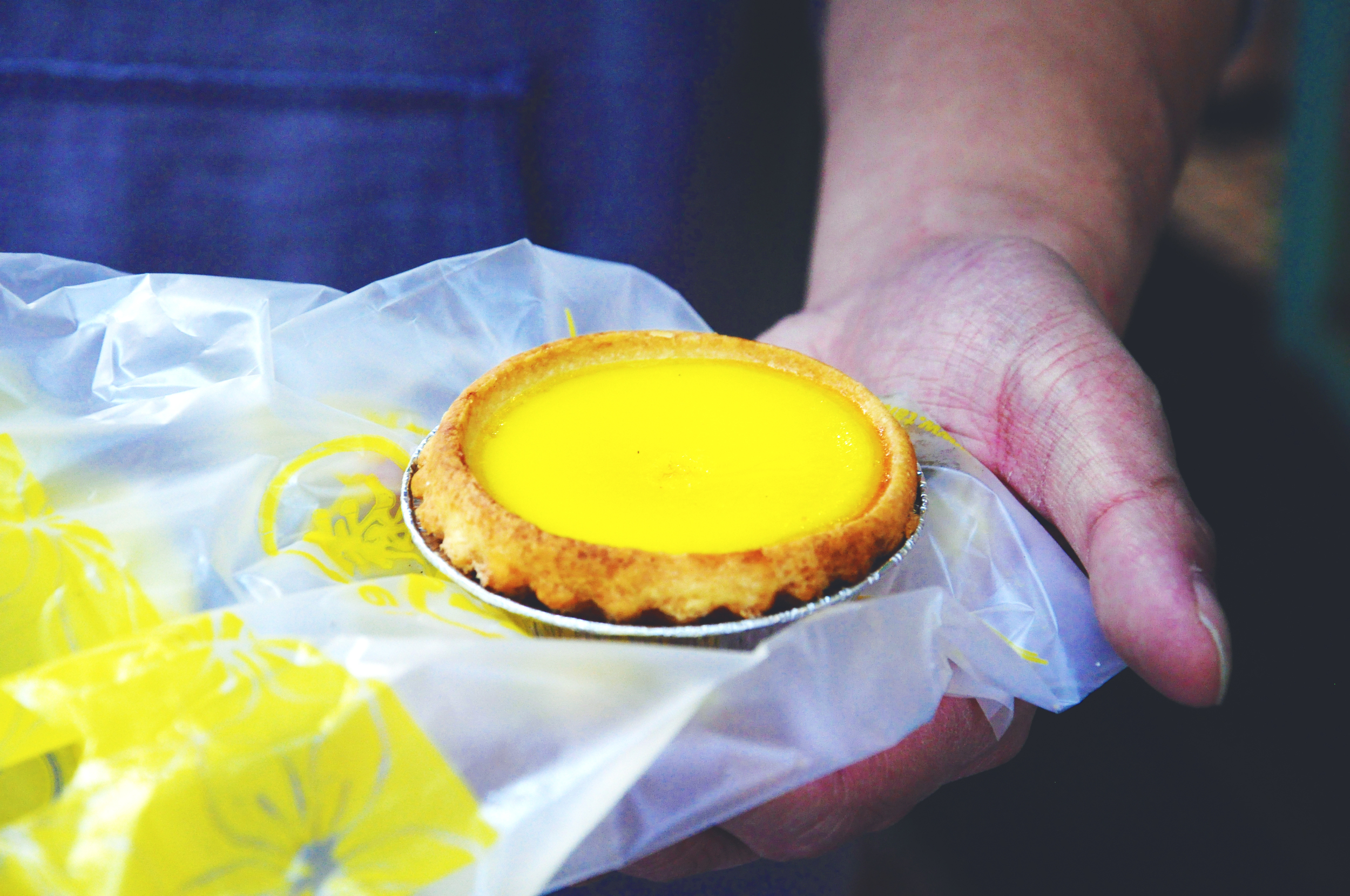 Egg tart at Tai Cheong