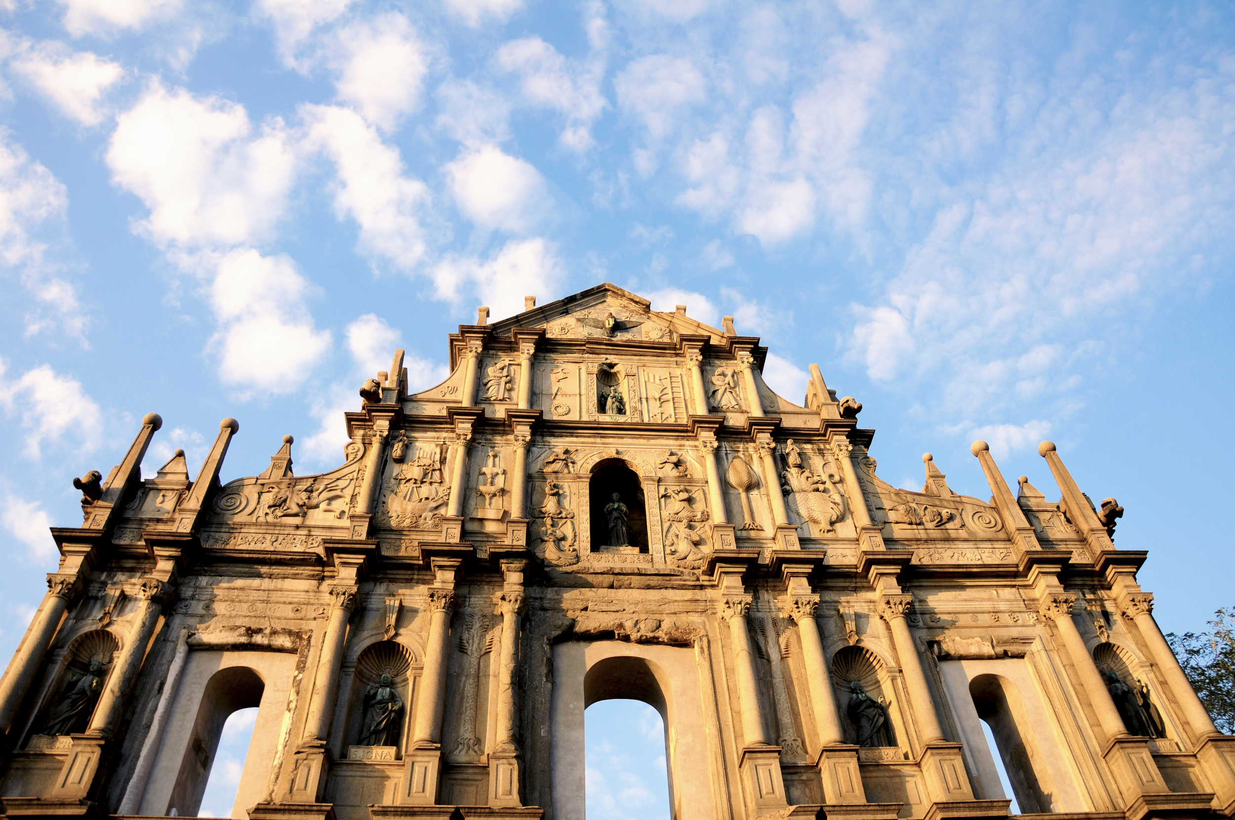 Ruin's of St. Paul's Catheral at Macau