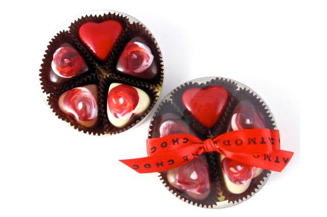 Five-Piece Chocolate Hearts