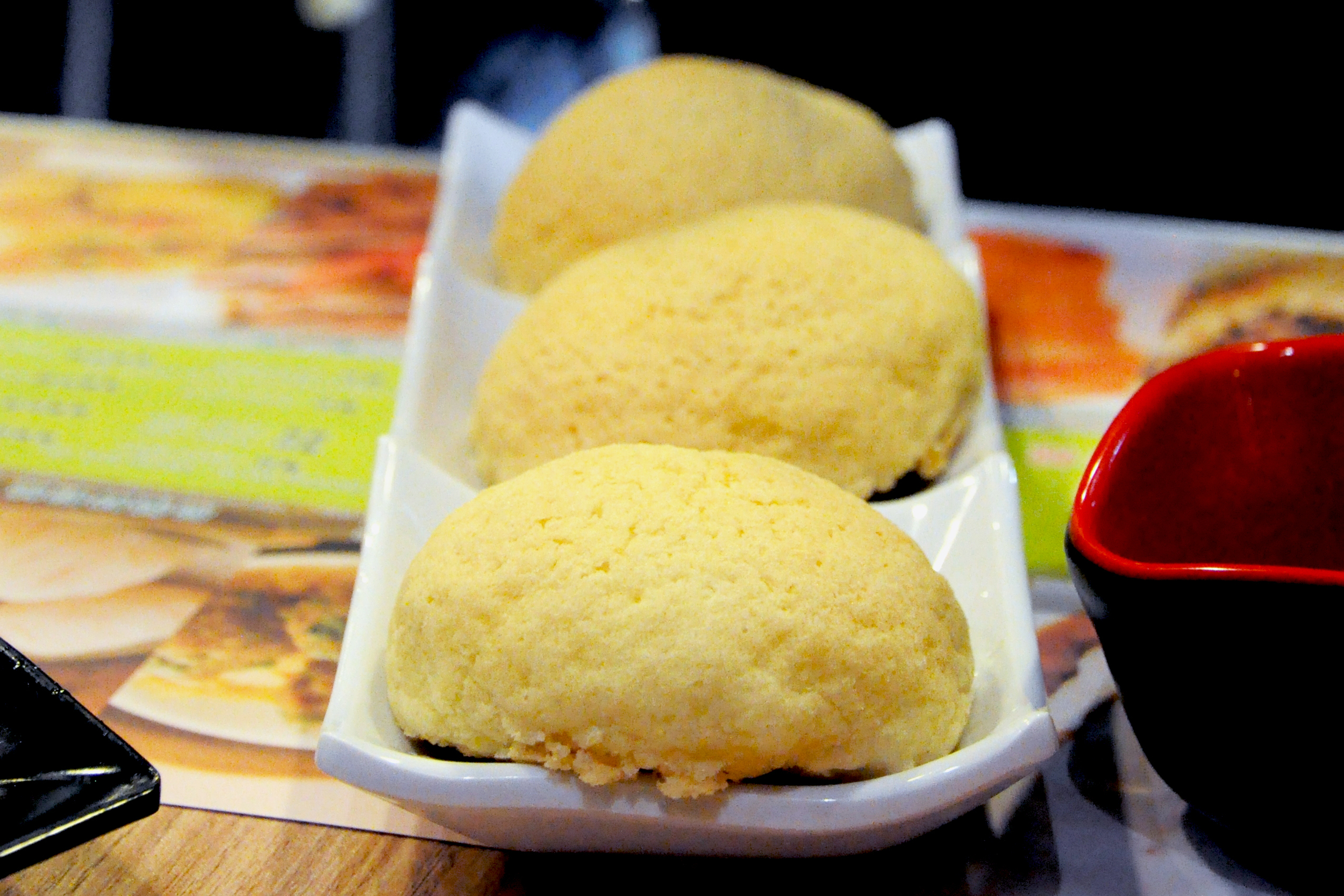 Char siu bao  (barbecue pork buns) at Tim Ho Wan