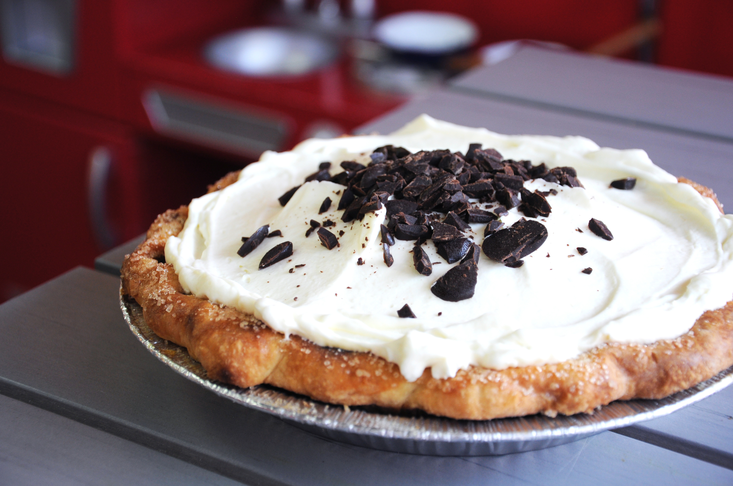 Chocolate cream pie at Robicelli's