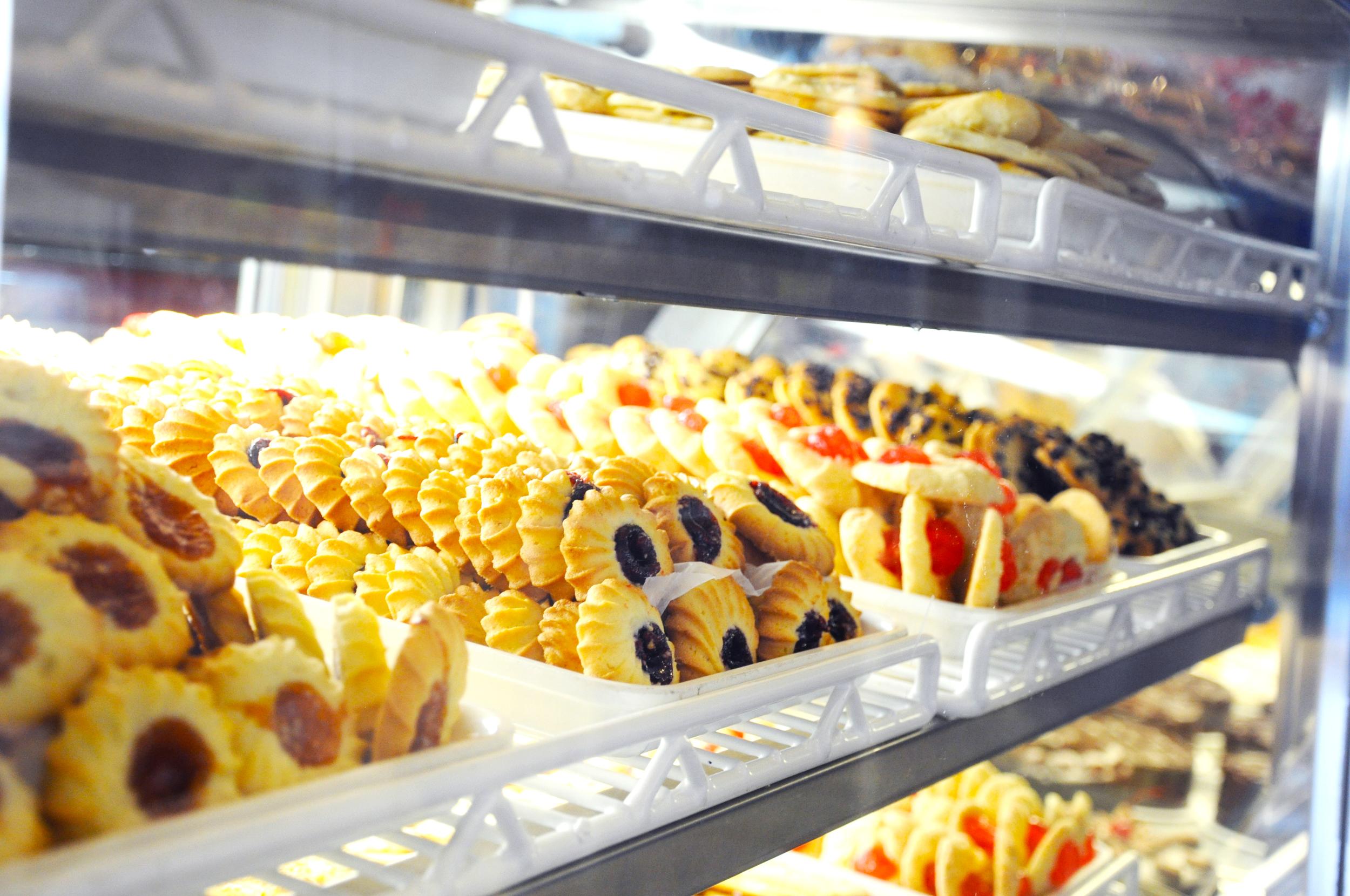 Cookies at Leske's Bakery