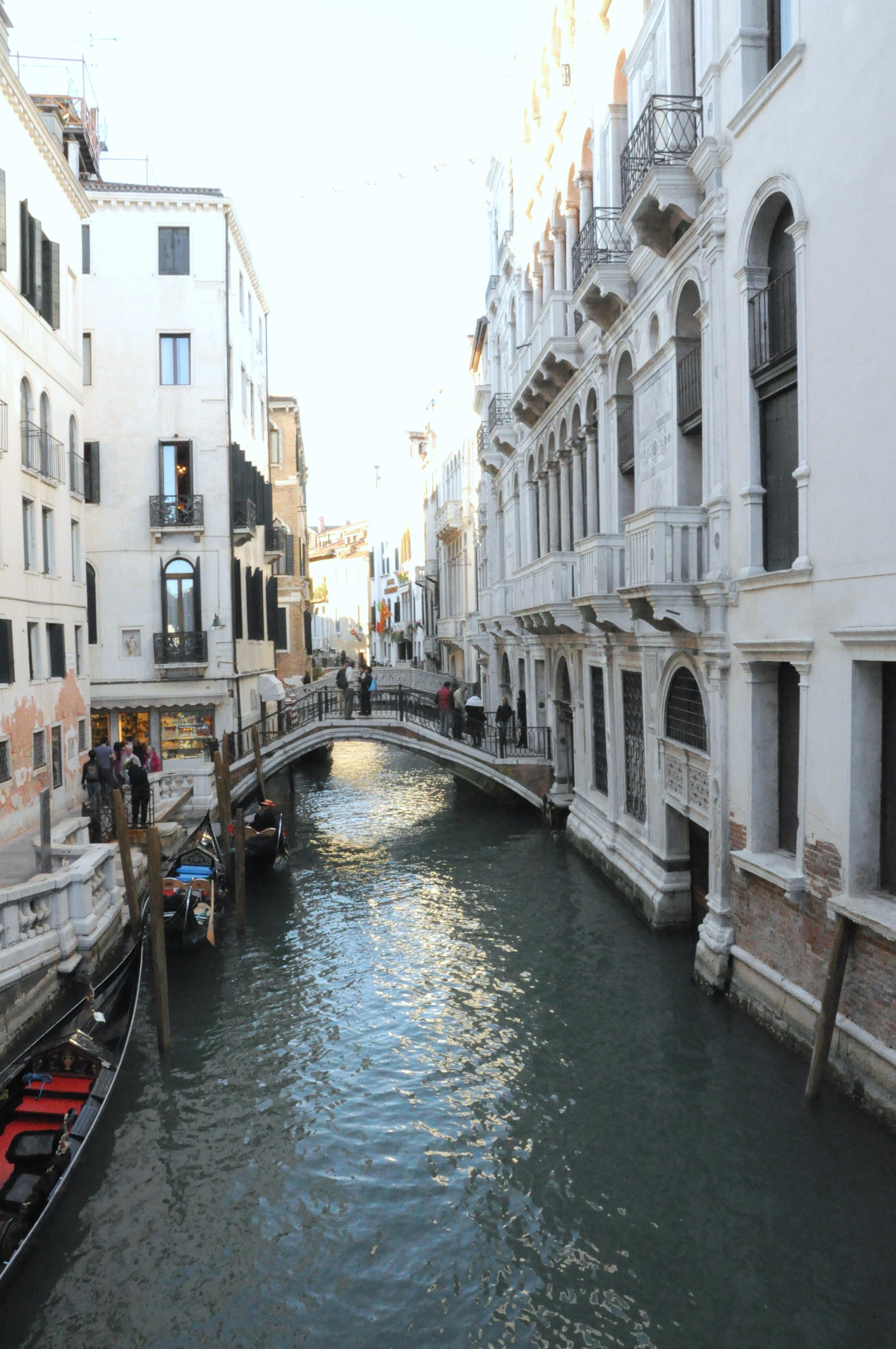 Venice's hidden alleyways