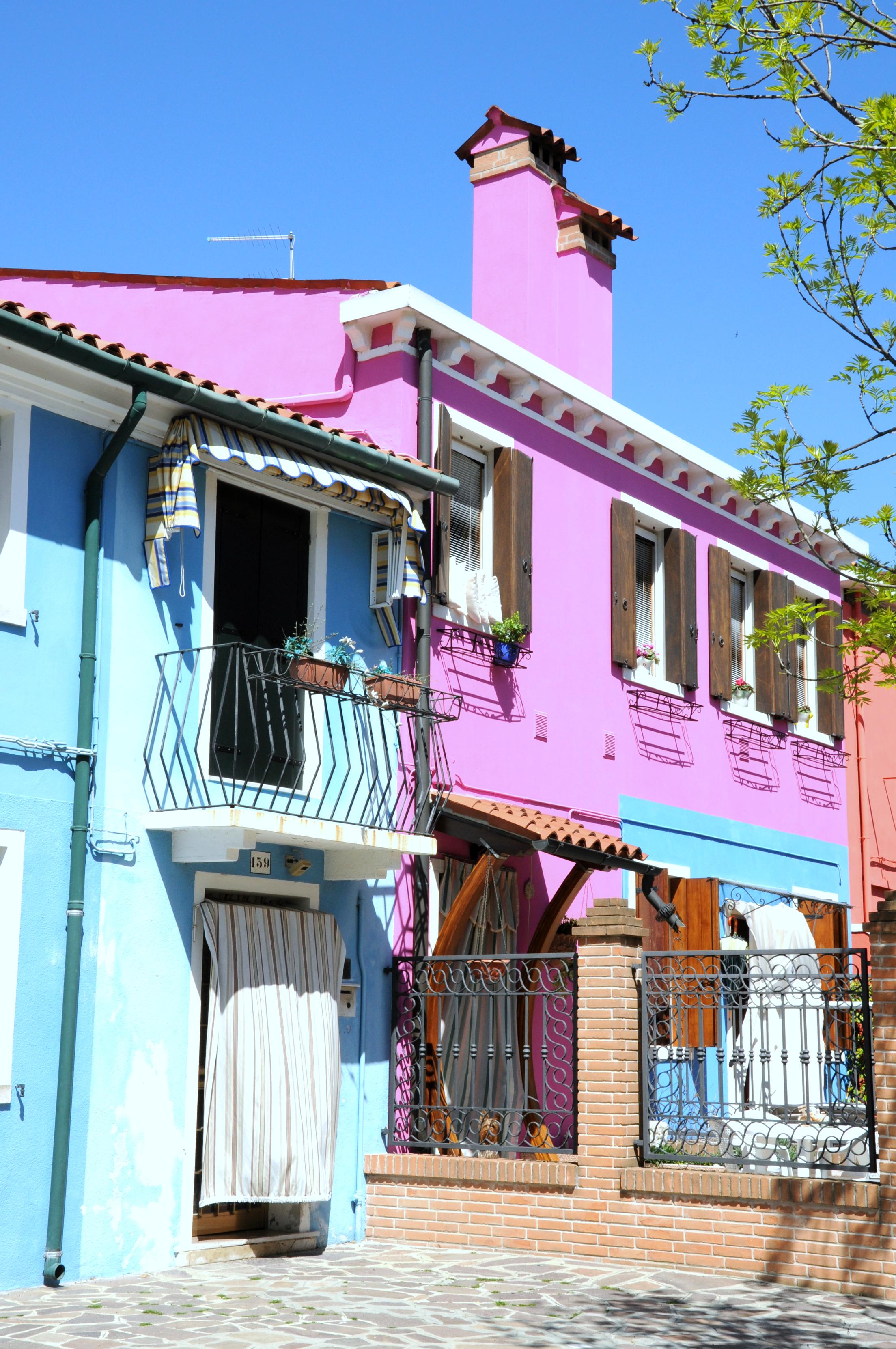 Burano's technicolor houses