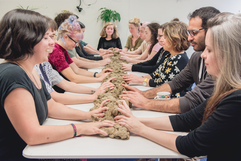 """""""Our popular date-night relaxation choice: Mindfulness with Clay."""""""