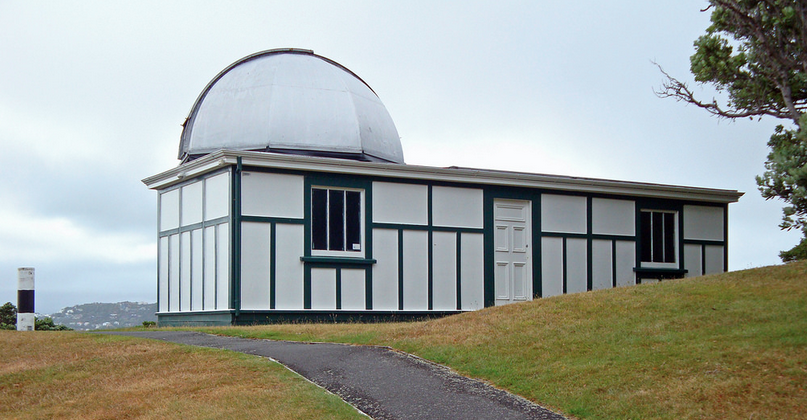 Thomas King Observatory, Wellington, work residency for artist Julian Priest in 2018 with thanks to the Wellington Museums Trust.