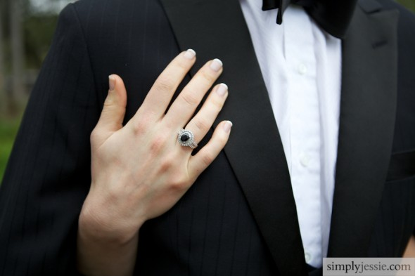 Vintage Ring Wedding Photo