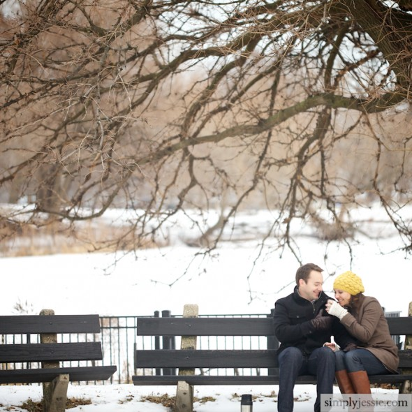 Chicago Lincoln Park Engagement Session