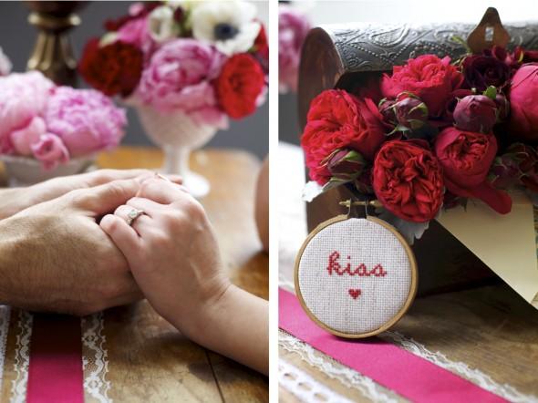 Fleur Valentine's Day Engagement