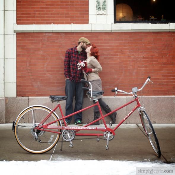 Tandem Bike Engagement