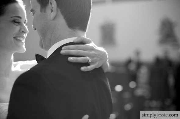 Black and White Chicago Wedding Photography