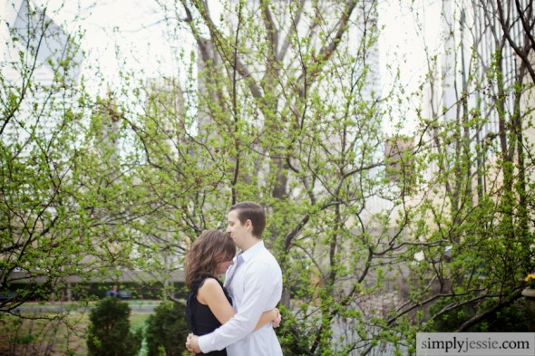 Chicago Spring Engagement Session