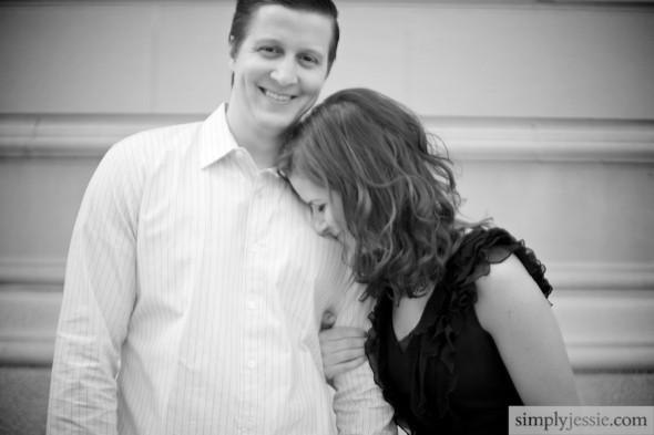 Emotional Chicago Engagement Photography