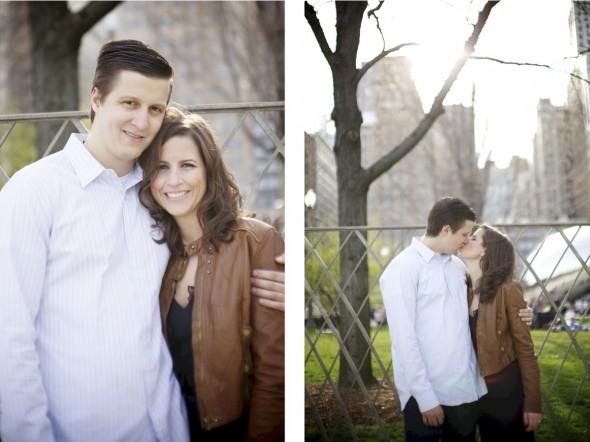 Grant Park Engagement Photography
