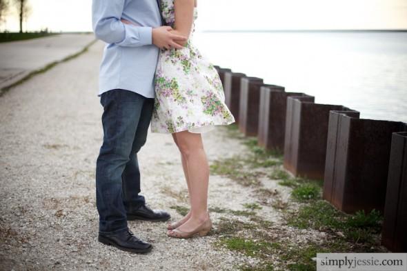 Milwaukee Engagement on the lake