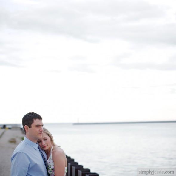 Milwaukee WI Engagement Session