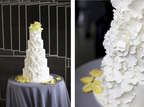 Cake at MCA Chicago Wedding