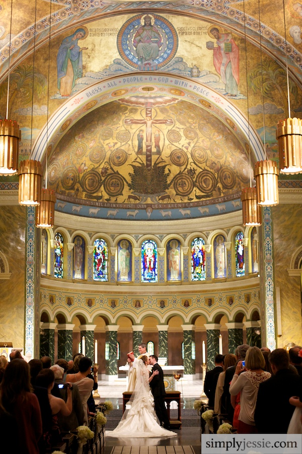 Chicago wedding at St. Clement