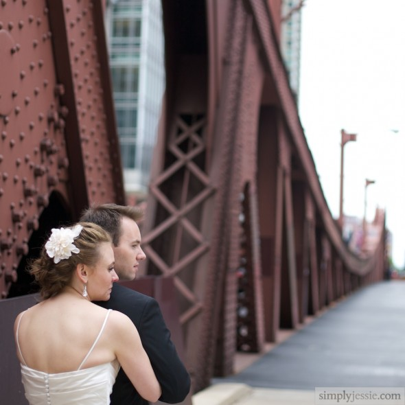 Lasalle Bridge Wedding Photography