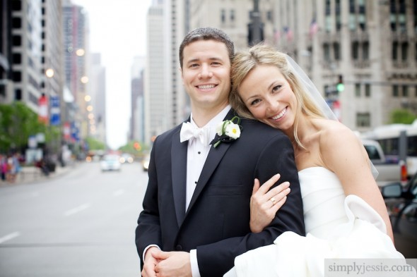 Modern Chicago IL wedding photography