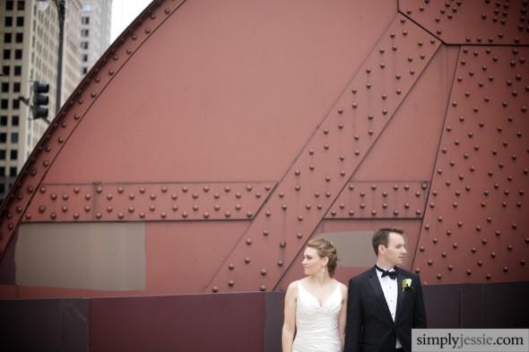 Modern Chicago Wedding Photography IL