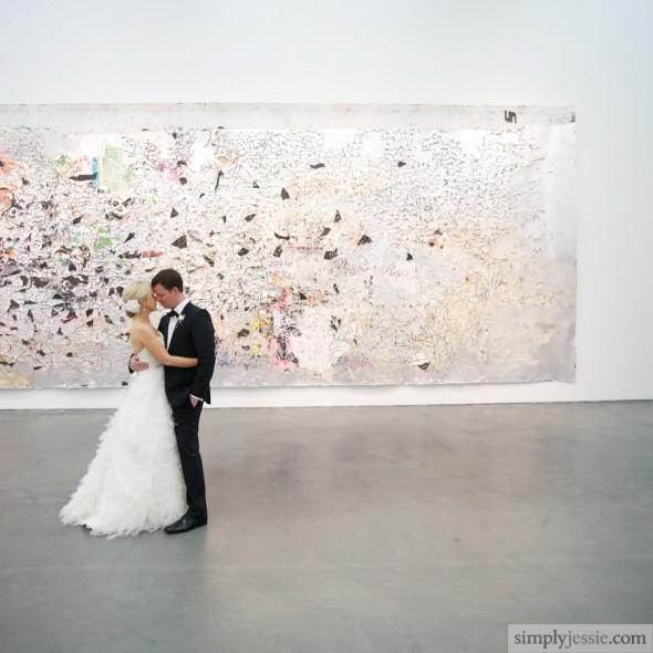Modern Wedding at MCA Chicago