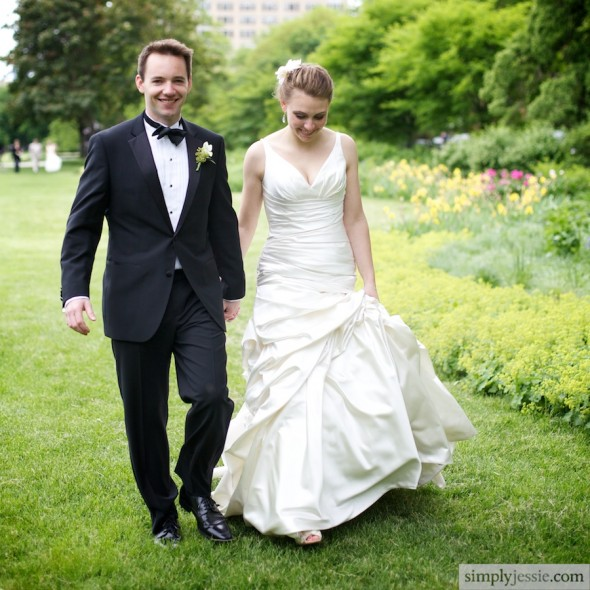 Natural Wedding Photography in Chicago