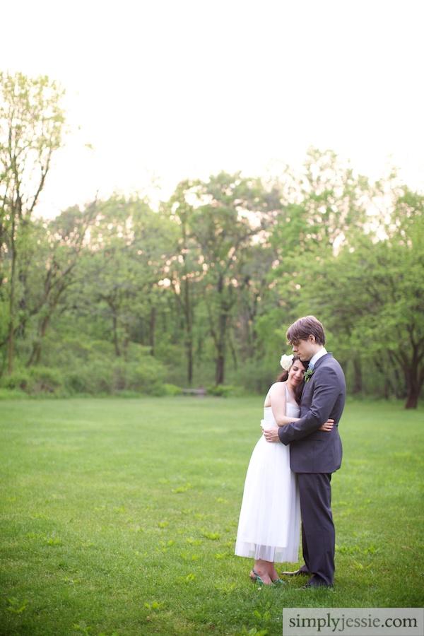 Outdoor Garden Wedding in Chicago
