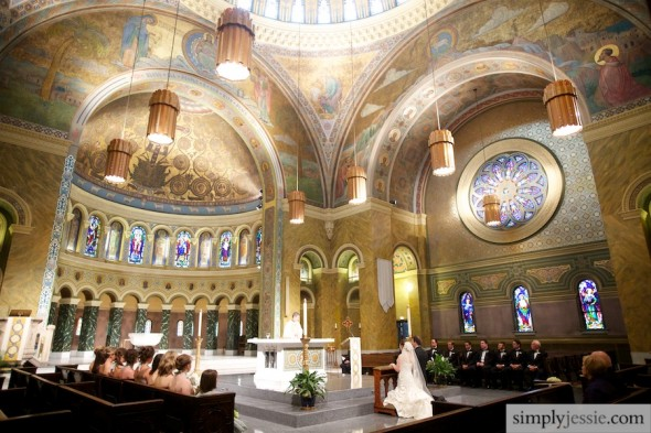 Wedding Ceremony in St. Clement