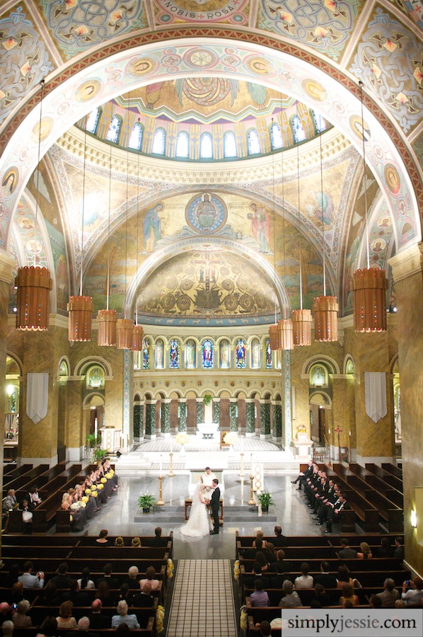 Wedding at St. Clement