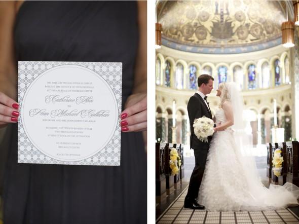Wedding in St. Clement Chicago
