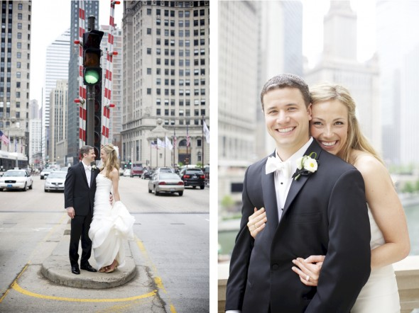 Wedding photography downtown Chicago